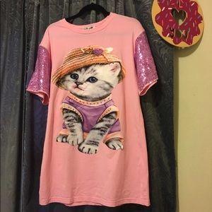 Dresses & Skirts - Kawaii 🌸 dress for cat lover 😻 handmade